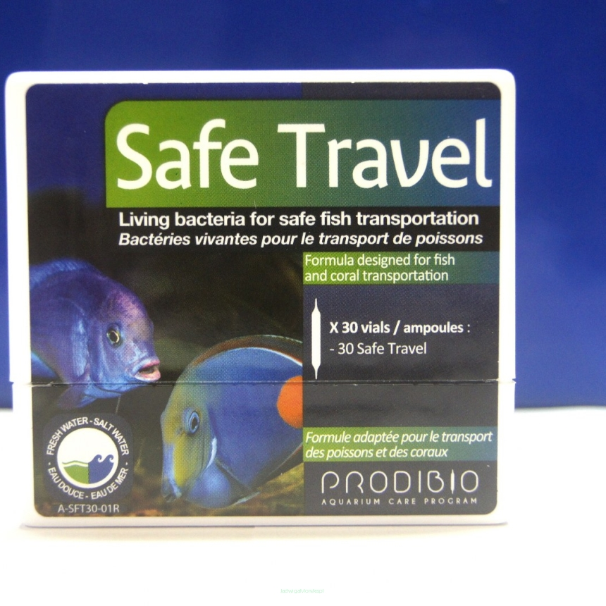 Prodibio Safe Travel 1 ampułka (transport ryb)